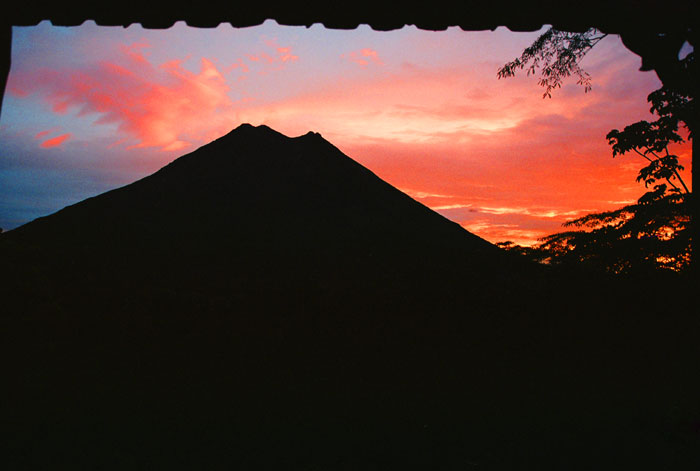 Volcan Arenal at Dawn